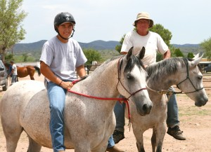 Arivaca boys ranch horses